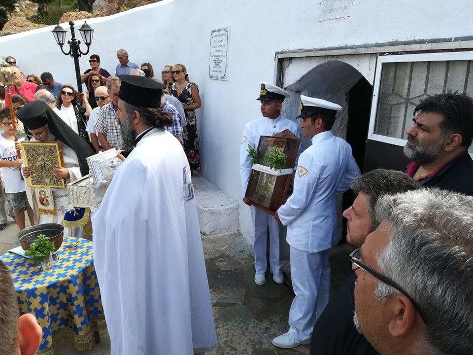 Με κάθε λαμπρότητα γιορτάσθηκε και φέτος ο Άγιος Μύρωνας Αντικυθήρων..ΕΙΚΟΝΕΣ